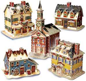 maison village de noel Le Village de Noël maison village de noel